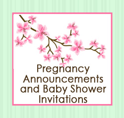Pregnancy Announcements and Baby Shower Invitations