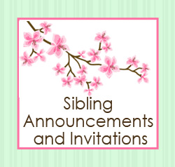 Twin and Sibling Invitations