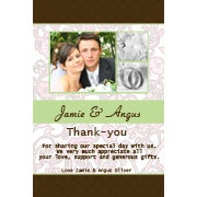 Wedding Thank-You cards