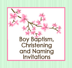 Christening/ Naming for Boys