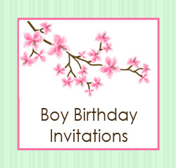 Birthday Invitations for Boys