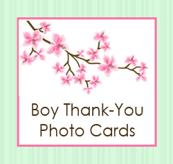 Thank You Cards for Boys