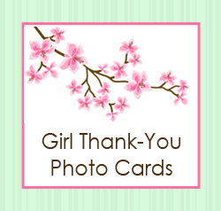 Thank You Cards for Girls