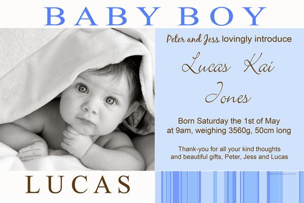 Birth Announcements and Baby Thank You Photo Cards for Boys - BA10-Photo cards, personalised photo cards, photocards, personalised photocards, baby cards, personalised baby cards, birth announcements, personalised birth announcements, christening invitations, personalised christening invitations, personalised invitations, personalised announcements, invitations, announcements, photo invitations, photo announcements, personalised photo invitations, personalised photo announcements, announcement cards, announcement photo cards, photo christening invitations, photo announcements, birthday invitations, personalised birthday invitations, photo birthday invitations, photocard birth announcements, photo card birth announcements, personalised photo card birth announcement, personalised photo birthday invitation, personalised invites, birth celebrations, personalised celebrations, personalised birth celebrations, baptism invitations, personalised baptism invitations, personalised photo baptism invitations, pregnancy announcements, pregnancy announcement cards,  pregnancy cards, personalised pregnancy announcements, personalised pregnancy announcement cards, personalised pregnancy cards, baby shower invitations, personalised baby shower invitations, engagement invitations, personalised engagement invitations, photo engagement invitations, personalised photo engagement invitations, engagement photo cards, save the date cards, personalised save the date cards, photo save the date cards, wedding thank-you cards, personalised wedding thank-you cards, wedding thank-you photo cards,