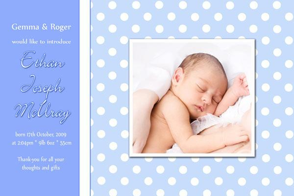 Birth Announcements and Baby Thank You Photo Cards for Boys - BA24-Photo cards, personalised photo cards, photocards, personalised photocards, baby cards, personalised baby cards, birth announcements, personalised birth announcements, christening invitations, personalised christening invitations, personalised invitations, personalised announcements, invitations, announcements, photo invitations, photo announcements, personalised photo invitations, personalised photo announcements, announcement cards, announcement photo cards, photo christening invitations, photo announcements, birthday invitations, personalised birthday invitations, photo birthday invitations, photocard birth announcements, photo card birth announcements, personalised photo card birth announcement, personalised photo birthday invitation, personalised invites, birth celebrations, personalised celebrations, personalised birth celebrations, baptism invitations, personalised baptism invitations, personalised photo baptism invitations, pregnancy announcements, pregnancy announcement cards,  pregnancy cards, personalised pregnancy announcements, personalised pregnancy announcement cards, personalised pregnancy cards, baby shower invitations, personalised baby shower invitations, engagement invitations, personalised engagement invitations, photo engagement invitations, personalised photo engagement invitations, engagement photo cards, save the date cards, personalised save the date cards, photo save the date cards, wedding thank-you cards, personalised wedding thank-you cards, wedding thank-you photo cards,
