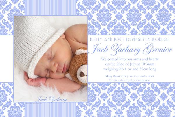 Birth Announcements and Baby Thank You Photo Cards for Boys - BA26-Photo cards, personalised photo cards, photocards, personalised photocards, baby cards, personalised baby cards, birth announcements, personalised birth announcements, christening invitations, personalised christening invitations, personalised invitations, personalised announcements, invitations, announcements, photo invitations, photo announcements, personalised photo invitations, personalised photo announcements, announcement cards, announcement photo cards, photo christening invitations, photo announcements, birthday invitations, personalised birthday invitations, photo birthday invitations, photocard birth announcements, photo card birth announcements, personalised photo card birth announcement, personalised photo birthday invitation, personalised invites, birth celebrations, personalised celebrations, personalised birth celebrations, baptism invitations, personalised baptism invitations, personalised photo baptism invitations, pregnancy announcements, pregnancy announcement cards,  pregnancy cards, personalised pregnancy announcements, personalised pregnancy announcement cards, personalised pregnancy cards, baby shower invitations, personalised baby shower invitations, engagement invitations, personalised engagement invitations, photo engagement invitations, personalised photo engagement invitations, engagement photo cards, save the date cards, personalised save the date cards, photo save the date cards, wedding thank-you cards, personalised wedding thank-you cards, wedding thank-you photo cards,