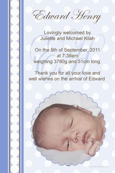 Birth Announcements and Baby Thank You Photo Cards for Boys - BA39-Photo cards, personalised photo cards, photocards, personalised photocards, baby cards, personalised baby cards, birth announcements, personalised birth announcements, christening invitations, personalised christening invitations, personalised invitations, personalised announcements, invitations, announcements, photo invitations, photo announcements, personalised photo invitations, personalised photo announcements, announcement cards, announcement photo cards, photo christening invitations, photo announcements, birthday invitations, personalised birthday invitations, photo birthday invitations, photocard birth announcements, photo card birth announcements, personalised photo card birth announcement, personalised photo birthday invitation, personalised invites, birth celebrations, personalised celebrations, personalised birth celebrations, baptism invitations, personalised baptism invitations, personalised photo baptism invitations, pregnancy announcements, pregnancy announcement cards,  pregnancy cards, personalised pregnancy announcements, personalised pregnancy announcement cards, personalised pregnancy cards, baby shower invitations, personalised baby shower invitations, engagement invitations, personalised engagement invitations, photo engagement invitations, personalised photo engagement invitations, engagement photo cards, save the date cards, personalised save the date cards, photo save the date cards, wedding thank-you cards, personalised wedding thank-you cards, wedding thank-you photo cards,