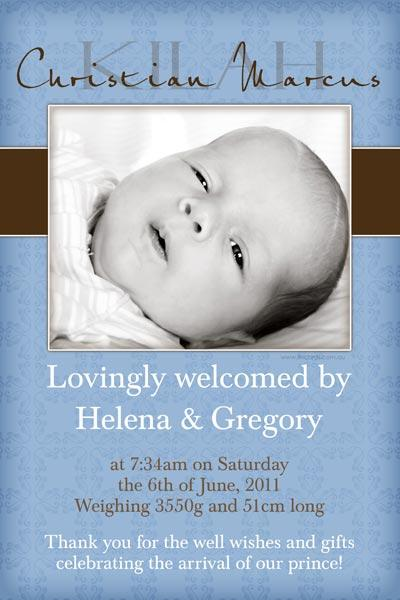 Birth Announcements and Baby Thank You Photo Cards for Boys - BA41-Photo cards, personalised photo cards, photocards, personalised photocards, baby cards, personalised baby cards, birth announcements, personalised birth announcements, christening invitations, personalised christening invitations, personalised invitations, personalised announcements, invitations, announcements, photo invitations, photo announcements, personalised photo invitations, personalised photo announcements, announcement cards, announcement photo cards, photo christening invitations, photo announcements, birthday invitations, personalised birthday invitations, photo birthday invitations, photocard birth announcements, photo card birth announcements, personalised photo card birth announcement, personalised photo birthday invitation, personalised invites, birth celebrations, personalised celebrations, personalised birth celebrations, baptism invitations, personalised baptism invitations, personalised photo baptism invitations, pregnancy announcements, pregnancy announcement cards,  pregnancy cards, personalised pregnancy announcements, personalised pregnancy announcement cards, personalised pregnancy cards, baby shower invitations, personalised baby shower invitations, engagement invitations, personalised engagement invitations, photo engagement invitations, personalised photo engagement invitations, engagement photo cards, save the date cards, personalised save the date cards, photo save the date cards, wedding thank-you cards, personalised wedding thank-you cards, wedding thank-you photo cards,
