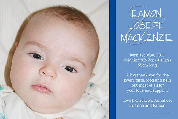 Birth Announcements and Baby Thank You Photo Cards for Boys - BA46-Photo cards, personalised photo cards, photocards, personalised photocards, baby cards, personalised baby cards, birth announcements, personalised birth announcements, christening invitations, personalised christening invitations, personalised invitations, personalised announcements, invitations, announcements, photo invitations, photo announcements, personalised photo invitations, personalised photo announcements, announcement cards, announcement photo cards, photo christening invitations, photo announcements, birthday invitations, personalised birthday invitations, photo birthday invitations, photocard birth announcements, photo card birth announcements, personalised photo card birth announcement, personalised photo birthday invitation, personalised invites, birth celebrations, personalised celebrations, personalised birth celebrations, baptism invitations, personalised baptism invitations, personalised photo baptism invitations, pregnancy announcements, pregnancy announcement cards,  pregnancy cards, personalised pregnancy announcements, personalised pregnancy announcement cards, personalised pregnancy cards, baby shower invitations, personalised baby shower invitations, engagement invitations, personalised engagement invitations, photo engagement invitations, personalised photo engagement invitations, engagement photo cards, save the date cards, personalised save the date cards, photo save the date cards, wedding thank-you cards, personalised wedding thank-you cards, wedding thank-you photo cards,