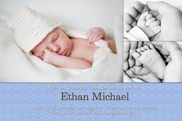 Birth Announcements Photo Cards Photo Thank You Baby Big Photos – Personalised Birth Announcements