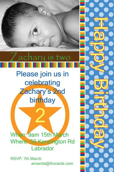 Birthday Invitations and Thank you Photo Cards for Boys BB15-Photo cards, personalised photo cards, photocards, personalised photocards, personalised invitations, photo invitations, personalised photo invitations, invitation cards, invitation photo cards, photo invites, photocard birthday invites, photo card birth invites, personalised photo card birthday invitations, thank-you photo cards,