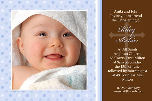 Sample Of Invitation Card For Christening And 1st Birthday. baptism  christening and naming invitations for boys with pale Birthday Christening Invitation Cards Photo orderecigsjuice info
