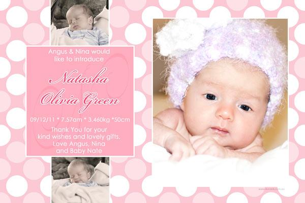 Birth Announcements and Baby Thank You Photo Cards for Girls - GA38-Photo cards, personalised photo cards, photocards, personalised photocards, baby cards, personalised baby cards, birth announcements, personalised birth announcements, christening invitations, personalised christening invitations, personalised invitations, personalised announcements, invitations, announcements, photo invitations, photo announcements, personalised photo invitations, personalised photo announcements, announcement cards, announcement photo cards, photo christening invitations, photo announcements, birthday invitations, personalised birthday invitations, photo birthday invitations, photocard birth announcements, photo card birth announcements, personalised photo card birth announcement, personalised photo birthday invitation, personalised invites, birth celebrations, personalised celebrations, personalised birth celebrations, baptism invitations, personalised baptism invitations, personalised photo baptism invitations, pregnancy announcements, pregnancy announcement cards,  pregnancy cards, personalised pregnancy announcements, personalised pregnancy announcement cards, personalised pregnancy cards, baby shower invitations, personalised baby shower invitations, engagement invitations, personalised engagement invitations, photo engagement invitations, personalised photo engagement invitations, engagement photo cards, save the date cards, personalised save the date cards, photo save the date cards, wedding thank-you cards, personalised wedding thank-you cards, wedding thank-you photo cards,
