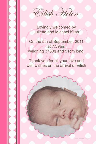 Birth Announcements and Baby Thank You Photo Cards for Girls - GA39-Photo cards, personalised photo cards, photocards, personalised photocards, baby cards, personalised baby cards, birth announcements, personalised birth announcements, christening invitations, personalised christening invitations, personalised invitations, personalised announcements, invitations, announcements, photo invitations, photo announcements, personalised photo invitations, personalised photo announcements, announcement cards, announcement photo cards, photo christening invitations, photo announcements, birthday invitations, personalised birthday invitations, photo birthday invitations, photocard birth announcements, photo card birth announcements, personalised photo card birth announcement, personalised photo birthday invitation, personalised invites, birth celebrations, personalised celebrations, personalised birth celebrations, baptism invitations, personalised baptism invitations, personalised photo baptism invitations, pregnancy announcements, pregnancy announcement cards,  pregnancy cards, personalised pregnancy announcements, personalised pregnancy announcement cards, personalised pregnancy cards, baby shower invitations, personalised baby shower invitations, engagement invitations, personalised engagement invitations, photo engagement invitations, personalised photo engagement invitations, engagement photo cards, save the date cards, personalised save the date cards, photo save the date cards, wedding thank-you cards, personalised wedding thank-you cards, wedding thank-you photo cards,