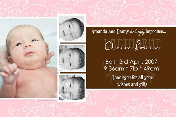 Birth Announcements and Baby Thank You Photo Cards for Girls - GA40-Photo cards, personalised photo cards, photocards, personalised photocards, baby cards, personalised baby cards, birth announcements, personalised birth announcements, christening invitations, personalised christening invitations, personalised invitations, personalised announcements, invitations, announcements, photo invitations, photo announcements, personalised photo invitations, personalised photo announcements, announcement cards, announcement photo cards, photo christening invitations, photo announcements, birthday invitations, personalised birthday invitations, photo birthday invitations, photocard birth announcements, photo card birth announcements, personalised photo card birth announcement, personalised photo birthday invitation, personalised invites, birth celebrations, personalised celebrations, personalised birth celebrations, baptism invitations, personalised baptism invitations, personalised photo baptism invitations, pregnancy announcements, pregnancy announcement cards,  pregnancy cards, personalised pregnancy announcements, personalised pregnancy announcement cards, personalised pregnancy cards, baby shower invitations, personalised baby shower invitations, engagement invitations, personalised engagement invitations, photo engagement invitations, personalised photo engagement invitations, engagement photo cards, save the date cards, personalised save the date cards, photo save the date cards, wedding thank-you cards, personalised wedding thank-you cards, wedding thank-you photo cards,