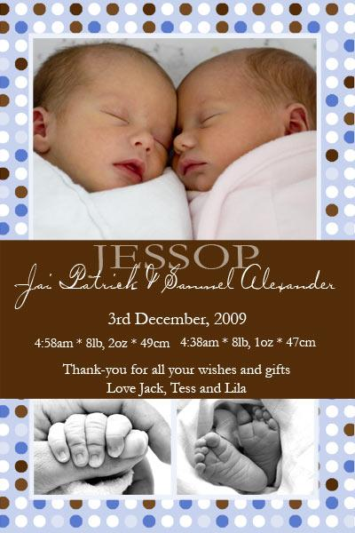 Birth Announcements and Baby Thank You Photo Cards for Twin Boys - TB07-Photo cards, personalised photo cards, photocards, personalised photocards, baby cards, personalised baby cards, birth announcements, personalised birth announcements, christening invitations, personalised christening invitations, personalised invitations, personalised announcements, invitations, announcements, photo invitations, photo announcements, personalised photo invitations, personalised photo announcements, announcement cards, announcement photo cards, photo christening invitations, photo announcements, birthday invitations, personalised birthday invitations, photo birthday invitations, photocard birth announcements, photo card birth announcements, personalised photo card birth announcement, personalised photo birthday invitation, personalised invites, birth celebrations, personalised celebrations, personalised birth celebrations, baptism invitations, personalised baptism invitations, personalised photo baptism invitations, pregnancy announcements, pregnancy announcement cards,  pregnancy cards, personalised pregnancy announcements, personalised pregnancy announcement cards, personalised pregnancy cards, baby shower invitations, personalised baby shower invitations, engagement invitations, personalised engagement invitations, photo engagement invitations, personalised photo engagement invitations, engagement photo cards, save the date cards, personalised save the date cards, photo save the date cards, wedding thank-you cards, personalised wedding thank-you cards, wedding thank-you photo cards,