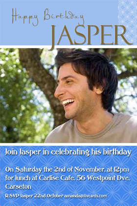 Adult Birthday Invitations for 21st, 30th 40th Birthdays and More AI04-adult photo invitations, photo invitations, adult birthday invitations, 18th birthday invitations, 21st birthday invitations, 30th birthday photo invitations, 40th birthday photo invitations, 50th birthday photo invitations