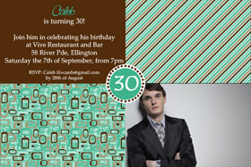 Adult Birthday Invitations for 21st, 30th 40th Birthdays and More AI08-adult photo invitations, photo invitations, adult birthday invitations, 18th birthday invitations, 21st birthday invitations, 30th birthday photo invitations, 40th birthday photo invitations, 50th birthday photo invitations