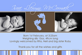 Boy Birth Announcements and Baby Thank You Photo Cards BA13-Photo cards, personalised photo cards, photocards, personalised photocards, baby cards, personalised baby cards, birth announcements, personalised birth announcements, christening invitations, personalised christening invitations, personalised invitations, personalised announcements, invitations, announcements, photo invitations, photo announcements, personalised photo invitations, personalised photo announcements, announcement cards, announcement photo cards, photo christening invitations, photo announcements, birthday invitations, personalised birthday invitations, photo birthday invitations, photocard birth announcements, photo card birth announcements, personalised photo card birth announcement, personalised photo birthday invitation, personalised invites, birth celebrations, personalised celebrations, personalised birth celebrations, baptism invitations, personalised baptism invitations, personalised photo baptism invitations, pregnancy announcements, pregnancy announcement cards,  pregnancy cards, personalised pregnancy announcements, personalised pregnancy announcement cards, personalised pregnancy cards, baby shower invitations, personalised baby shower invitations, engagement invitations, personalised engagement invitations, photo engagement invitations, personalised photo engagement invitations, engagement photo cards, save the date cards, personalised save the date cards, photo save the date cards, wedding thank-you cards, personalised wedding thank-you cards, wedding thank-you photo cards,