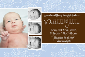 Boy Birth Announcements and Baby Thank You Photo Cards BA40-Photo cards, personalised photo cards, photocards, personalised photocards, baby cards, personalised baby cards, birth announcements, personalised birth announcements, christening invitations, personalised christening invitations, personalised invitations, personalised announcements, invitations, announcements, photo invitations, photo announcements, personalised photo invitations, personalised photo announcements, announcement cards, announcement photo cards, photo christening invitations, photo announcements, birthday invitations, personalised birthday invitations, photo birthday invitations, photocard birth announcements, photo card birth announcements, personalised photo card birth announcement, personalised photo birthday invitation, personalised invites, birth celebrations, personalised celebrations, personalised birth celebrations, baptism invitations, personalised baptism invitations, personalised photo baptism invitations, pregnancy announcements, pregnancy announcement cards,  pregnancy cards, personalised pregnancy announcements, personalised pregnancy announcement cards, personalised pregnancy cards, baby shower invitations, personalised baby shower invitations, engagement invitations, personalised engagement invitations, photo engagement invitations, personalised photo engagement invitations, engagement photo cards, save the date cards, personalised save the date cards, photo save the date cards, wedding thank-you cards, personalised wedding thank-you cards, wedding thank-you photo cards,