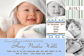 Boy Birth Announcements and Baby Thank You Photo Cards BA47-Photo cards, personalised photo cards, photocards, personalised photocards, baby cards, personalised baby cards, birth announcements, personalised birth announcements, christening invitations, personalised christening invitations, personalised invitations, personalised announcements, invitations, announcements, photo invitations, photo announcements, personalised photo invitations, personalised photo announcements, announcement cards, announcement photo cards, photo christening invitations, photo announcements, birthday invitations, personalised birthday invitations, photo birthday invitations, photocard birth announcements, photo card birth announcements, personalised photo card birth announcement, personalised photo birthday invitation, personalised invites, birth celebrations, personalised celebrations, personalised birth celebrations, baptism invitations, personalised baptism invitations, personalised photo baptism invitations, pregnancy announcements, pregnancy announcement cards,  pregnancy cards, personalised pregnancy announcements, personalised pregnancy announcement cards, personalised pregnancy cards, baby shower invitations, personalised baby shower invitations, engagement invitations, personalised engagement invitations, photo engagement invitations, personalised photo engagement invitations, engagement photo cards, save the date cards, personalised save the date cards, photo save the date cards, wedding thank-you cards, personalised wedding thank-you cards, wedding thank-you photo cards,