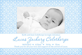 Boy Birth Announcements and Baby Thank You Photo Cards BA58-Photo cards, personalised photo cards, photocards, personalised photocards, baby cards, personalised baby cards, birth announcements, personalised birth announcements, christening invitations, personalised christening invitations, personalised invitations, personalised announcements, invitations, announcements, photo invitations, photo announcements, personalised photo invitations, personalised photo announcements, announcement cards, announcement photo cards, photo christening invitations, photo announcements, birthday invitations, personalised birthday invitations, photo birthday invitations, photocard birth announcements, photo card birth announcements, personalised photo card birth announcement, personalised photo birthday invitation, personalised invites, birth celebrations, personalised celebrations, personalised birth celebrations, baptism invitations, personalised baptism invitations, personalised photo baptism invitations, pregnancy announcements, pregnancy announcement cards,  pregnancy cards, personalised pregnancy announcements, personalised pregnancy announcement cards, personalised pregnancy cards, baby shower invitations, personalised baby shower invitations, engagement invitations, personalised engagement invitations, photo engagement invitations, personalised photo engagement invitations, engagement photo cards, save the date cards, personalised save the date cards, photo save the date cards, wedding thank-you cards, personalised wedding thank-you cards, wedding thank-you photo cards,