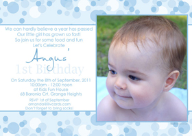 Boy Birthday Invitations and Thank you Photo Cards BB49-