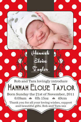 Girl Birth Announcements and Baby Thank You Photo Cards GA52-Photo cards, personalised photo cards, photocards, personalised photocards, baby cards, personalised baby cards, birth announcements, personalised birth announcements, christening invitations, personalised christening invitations, personalised invitations, personalised announcements, invitations, announcements, photo invitations, photo announcements, personalised photo invitations, personalised photo announcements, announcement cards, announcement photo cards, photo christening invitations, photo announcements, birthday invitations, personalised birthday invitations, photo birthday invitations, photocard birth announcements, photo card birth announcements, personalised photo card birth announcement, personalised photo birthday invitation, personalised invites, birth celebrations, personalised celebrations, personalised birth celebrations, baptism invitations, personalised baptism invitations, personalised photo baptism invitations, pregnancy announcements, pregnancy announcement cards,  pregnancy cards, personalised pregnancy announcements, personalised pregnancy announcement cards, personalised pregnancy cards, baby shower invitations, personalised baby shower invitations, engagement invitations, personalised engagement invitations, photo engagement invitations, personalised photo engagement invitations, engagement photo cards, save the date cards, personalised save the date cards, photo save the date cards, wedding thank-you cards, personalised wedding thank-you cards, wedding thank-you photo cards,