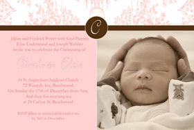 Girl Baptism, Christening and Naming Day Invitations and Thank You Photo Cards GC14-Photo cards, personalised photo cards, photocards, personalised photocards, personalised invitations, photo invitations, personalised photo invitations, invitation cards, invitation photo cards, photo invites, photocard birthday invites, photo card birth invites, personalised photo card birthday invitations, thank-you photo cards,