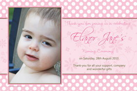 Girl Baptism, Christening and Naming Day Invitations and Thank You Photo Cards GC32-Photo cards, personalised photo cards, photocards, personalised photocards, personalised invitations, photo invitations, personalised photo invitations, invitation cards, invitation photo cards, photo invites, photocard birthday invites, photo card birth invites, personalised photo card birthday invitations, thank-you photo cards,