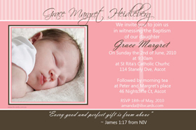 Girl Baptism, Christening and Naming Day Invitations and Thank You Photo Cards GC34-Photo cards, personalised photo cards, photocards, personalised photocards, personalised invitations, photo invitations, personalised photo invitations, invitation cards, invitation photo cards, photo invites, photocard birthday invites, photo card birth invites, personalised photo card birthday invitations, thank-you photo cards,