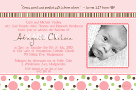 Girl Baptism, Christening and Naming Day Invitations and Thank You Photo Cards GC35-Photo cards, personalised photo cards, photocards, personalised photocards, personalised invitations, photo invitations, personalised photo invitations, invitation cards, invitation photo cards, photo invites, photocard birthday invites, photo card birth invites, personalised photo card birthday invitations, thank-you photo cards,