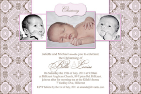 Girl Baptism, Christening and Naming Day Invitations and Thank You Photo Cards GC39-Photo cards, personalised photo cards, photocards, personalised photocards, personalised invitations, photo invitations, personalised photo invitations, invitation cards, invitation photo cards, photo invites, photocard birthday invites, photo card birth invites, personalised photo card birthday invitations, thank-you photo cards,
