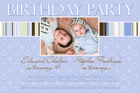 Brothers Photo Birthday Invitations and Thank you Cards SB13-Photo cards, personalised photo cards, photocards, personalised photocards, personalised invitations, photo invitations, personalised photo invitations, invitation cards, invitation photo cards, photo invites, photocard birthday invites, photo card birth invites, personalised photo card birthday invitations, thank-you photo cards,