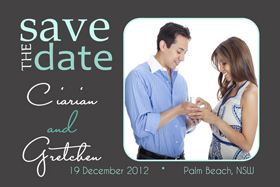 Wedding Save the Date Photo Cards SD12-