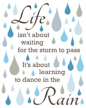 Dance in the Rain Wall Art WA17-dance in the rain, wall art