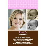 Adult Birthday Invitations for 21st, 30th 40th Birthdays and More AI05-adult photo invitations, photo invitations, adult birthday invitations, 18th birthday invitations, 21st birthday invitations, 30th birthday photo invitations, 40th birthday photo invitations, 50th birthday photo invitations