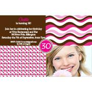 Adult Birthday Invitations for 21st, 30th 40th Birthdays and More AI07-adult photo invitations, photo invitations, adult birthday invitations, 18th birthday invitations, 21st birthday invitations, 30th birthday photo invitations, 40th birthday photo invitations, 50th birthday photo invitations