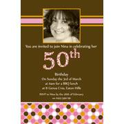Adult Birthday Invitations for 21st, 30th 40th Birthdays and More AI15-adult photo invitations, photo invitations, adult birthday invitations, 18th birthday invitations, 21st birthday invitations, 30th birthday photo invitations, 40th birthday photo invitations, 50th birthday photo invitations