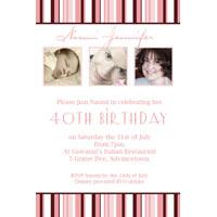 Adult Birthday Invitations for 21st, 30th 40th Birthdays and More AI23-Photo cards, photo card, invitation, invitations, photo invitations, photo invitation, baby shower invitation, baby shower photo invitation, baby shower invitaitons, baby shower photo invitations,