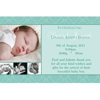 Birth Announcements and Baby Thank You Photo Cards for Boys - BA03-Photo cards, personalised photo cards, photocards, personalised photocards,  birth announcements, personalised birth announcements, personalised announcements, announcements, photo announcements, personalised photo announcements, announcement cards, announcement photo cards, photo announcements, photocard birth announcements, photo card birth announcements, personalised photo card birth announcement,