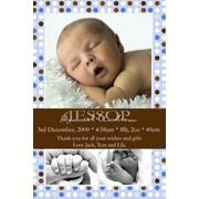 Birth Announcements and Baby Thank You Photo Cards for Boys - BA07