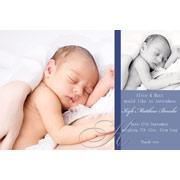 Birth Announcements and Baby Thank You Photo Cards for Boys - BA15