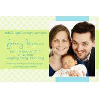 Birth Announcements and Baby Thank You Photo Cards for Boys - BA29-Photo cards, personalised photo cards, photocards, personalised photocards, baby cards, personalised baby cards, birth announcements, personalised birth announcements, personalised announcements, photo announcements, personalised photo announcements, announcement cards, announcement photo cards, photo announcements, photocard birth announcements, photo card birth announcements, personalised photo card birth announcement, thank-you photo cards,
