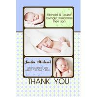Boy Birth Announcements and Baby Thank You Photo Cards BA34-Photo cards, personalised photo cards, photocards, personalised photocards,  birth announcements, personalised birth announcements, personalised announcements, announcements, photo announcements, personalised photo announcements, announcement cards, announcement photo cards, photo announcements, photocard birth announcements, photo card birth announcements, personalised photo card birth announcement,