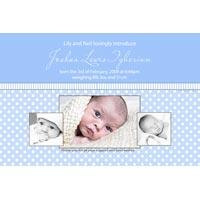 Boy Birth Announcements and Baby Thank You Photo Cards BA35-Photo cards, personalised photo cards, photocards, personalised photocards,  birth announcements, personalised birth announcements, personalised announcements, announcements, photo announcements, personalised photo announcements, announcement cards, announcement photo cards, photo announcements, photocard birth announcements, photo card birth announcements, personalised photo card birth announcement,