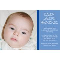 Birth Announcements and Baby Thank You Photo Cards for Boys - BA46