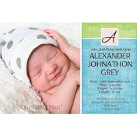 Boy Birth Announcements and Baby Thank You Photo Cards BA57-Photo cards, personalised photo cards, photocards, personalised photocards, baby cards, personalised baby cards, birth announcements, personalised birth announcements, christening invitations, personalised christening invitations, personalised invitations, personalised announcements, invitations, announcements, photo invitations, photo announcements, personalised photo invitations, personalised photo announcements, announcement cards, announcement photo cards, photo christening invitations, photo announcements, birthday invitations, personalised birthday invitations, photo birthday invitations, photocard birth announcements, photo card birth announcements, personalised photo card birth announcement, personalised photo birthday invitation, personalised invites, birth celebrations, personalised celebrations, personalised birth celebrations, baptism invitations, personalised baptism invitations, personalised photo baptism invitations, pregnancy announcements, pregnancy announcement cards,  pregnancy cards, personalised pregnancy announcements, personalised pregnancy announcement cards, personalised pregnancy cards, baby shower invitations, personalised baby shower invitations, engagement invitations, personalised engagement invitations, photo engagement invitations, personalised photo engagement invitations, engagement photo cards, save the date cards, personalised save the date cards, photo save the date cards, wedding thank-you cards, personalised wedding thank-you cards, wedding thank-you photo cards,