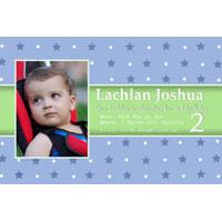Birthday Invitations and Thank you Photo Cards for Boys BB01
