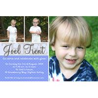Birthday Invitations and Thank you Photo Cards for Boys BB06